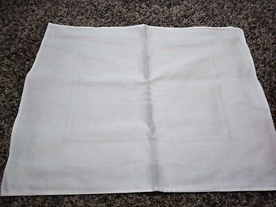 US Airways first class food service cloth placemat