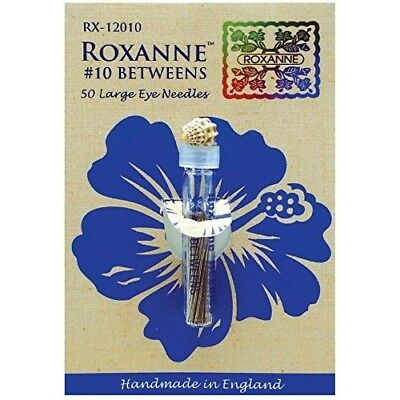 Colonial Needle Roxanne Betweens Hand Needles-Size 10, Pack of 50