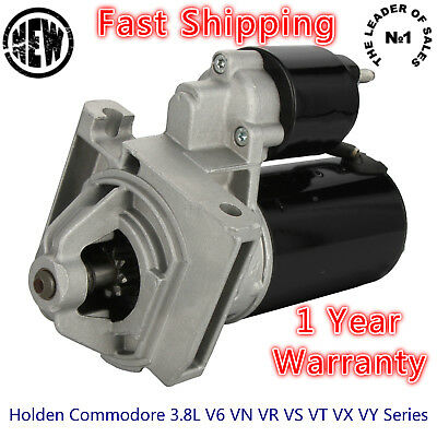 Premium Starter Motor for Holden Commodore VN VR VS VT VX VY Series V6 3.8L