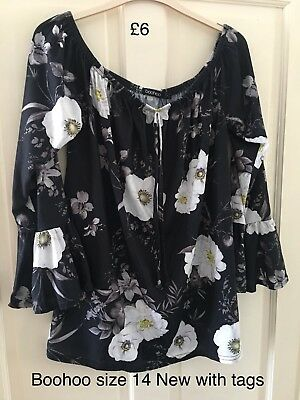 maternity clothes size 14 Boohoo Top