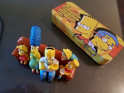 The Simpsons Collectibles - lunch box and couch