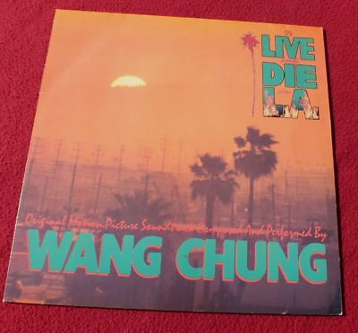 OST Vinyl LP* Wang Chung ‎– To Live And Die In L.A. (1985) *TOP & RAR