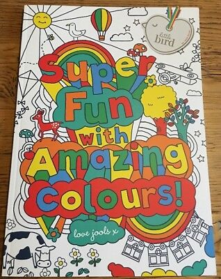Little Bird Jools Oliver Kids Adults Super Fun Amazing Colouring Book New