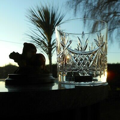 """Edinburgh Crystal  BEAULY  3 1/4"""" OLD FASHIONED WHISKY glass OR glasses ( 2nd )"""