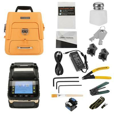 Ai8 Fiber Optic Welding Splicing Machine Optical Fiber Fusion Splicer 50/60HZ UK