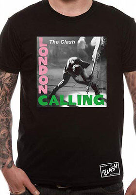 Licenza Ufficiale The Clash - London Calling Musica T-SHIRT S-XXL