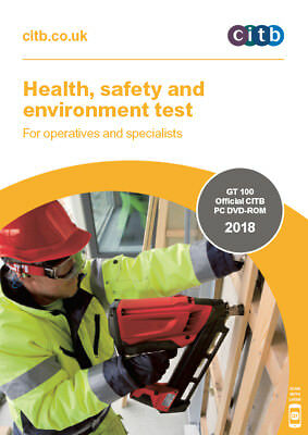 Health,Safety & Environment Test for Operatives & Specialists 2018 DVD CSCS -NEW