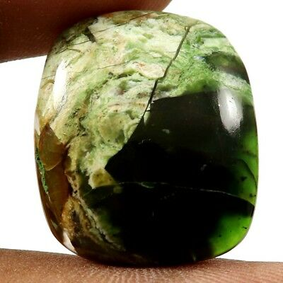 24.45 cts Natural Opalised Serpentine Gemstone Designer Octagon Loose Cabochon