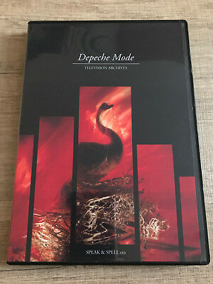 Depeche Mode Television Archives DVD 1981