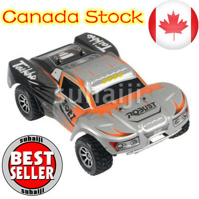 Wltoys A969 2.4G 4WD 1/18 Scale High Speed 50km/h Remote Control RC Truck Car