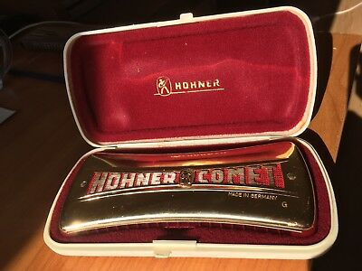 "Hohner Comet Mundharmonika, No. 3427 ""Made in Germany"""