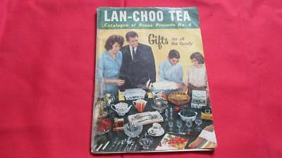 1960's Circa Lan-Choo Tea Catalogue of Bonus Presents No. 4. Gifts for All The F