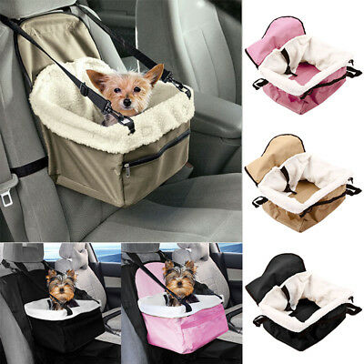 Travel Dog Booster Seat Car For Small Dogs Pet Durable