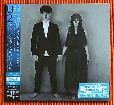 U2 - SONGS OF EXPERIENCE  First Limited Edition CD  Japan 5 Bonus Tracks  SEALED