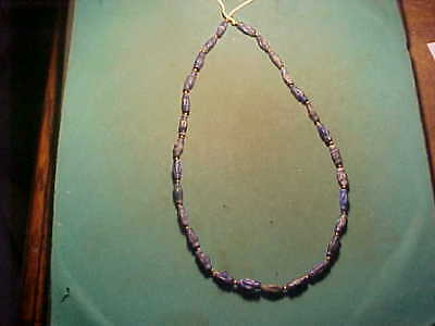 SPECIAL OFFER! String of ROMAN  Lapis Lazuli beads.circa 100-400 AD