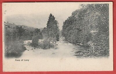 Vintage Postcard - Pass of Leny - Undivided back