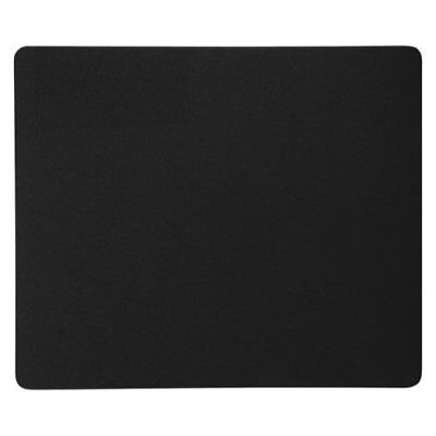 Mouse Mat Pad Deluxe Black 6 mm Sponge Rubber Anti Slip Smooth Surface HC203