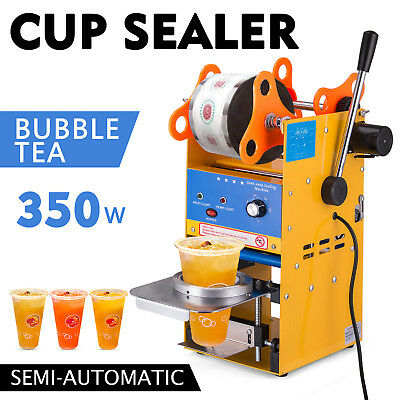 300-500 Cups/H Semi-automatic Tea Cup Sealing PE Commercial Durable STREET PRICE