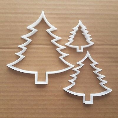 474c62df382fc Tree Fern Christmas Xmas Shape Cookie Cutter Dough Biscuit Pastry Stencil