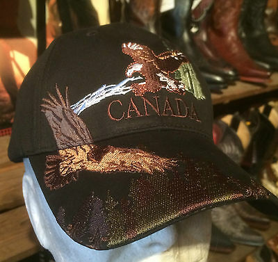 Casquette Noire Usa Aigle- Western - Country