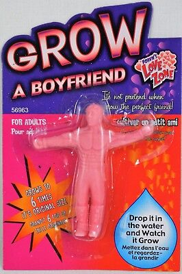 Grow A Boyfriend Your Own  Man Male Rude Secret Santa Gift Stocking Filler Toy