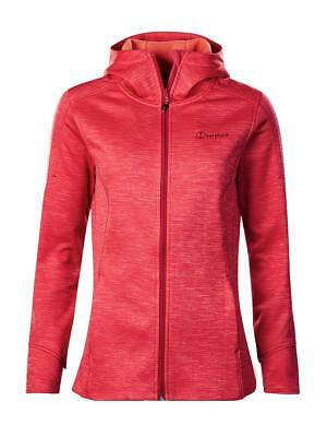 Berghaus Womens Kamloops Stretch Walking Hiking Hoodie Jumper - Pink  SIZE 12