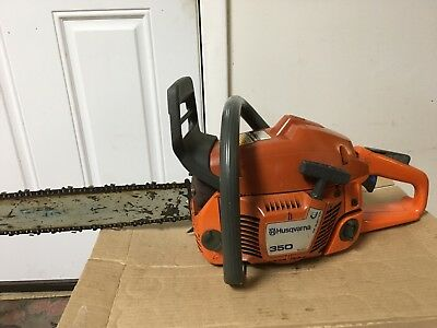 USED HUSQVARNA 350 Chainsaw With 18