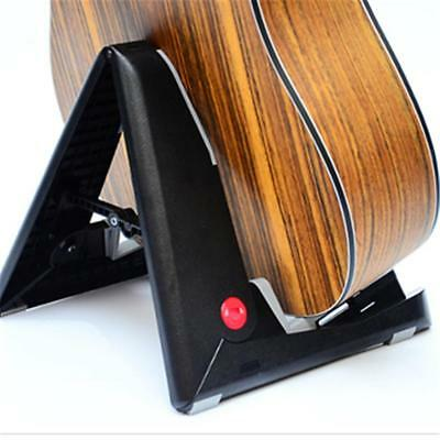 Folding Stand A Frame Floor Rack Holder fr Acoustic Electric Guitar Bass Ukulele
