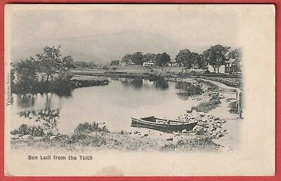 Vintage Postcard - Ben Ledl from the Teith - Undivided back
