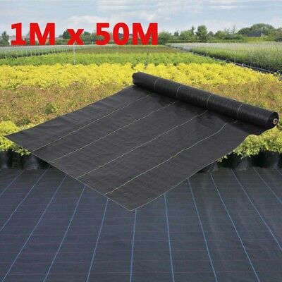 1M Heavy Duty Weed Control Fabric Membrane Ground Cover Sheet Garden Landscape