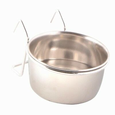 Trixie Stainless Steel Bowl with Holder, 150 ml