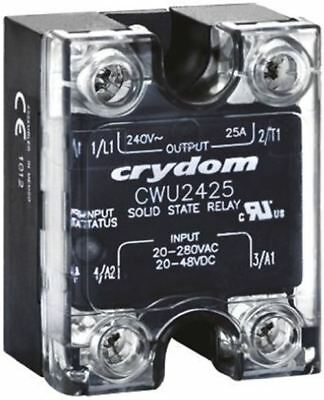 Sensata / Crydom 25 A Solid State Relay, Zero Cross, Panel Mount SCR, 660 V ac M