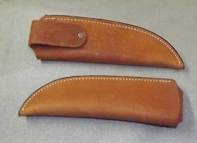 Custom Leather Fold Over Knife Sheath 1013