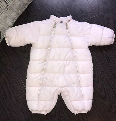 DIOR Baby Girl Snowsuit Fully Padded Moncler Style Pink  6m+ Winter/autumn Xmas