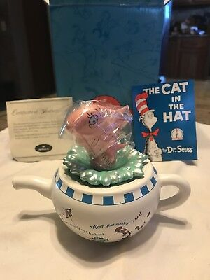 Hallmark Dr. Suess Collection  The Fish in The Pot   Mint Condtion 2001