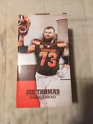 Joe Thomas Bobblehead #73 Cleveland Browns Stadium Giveaway Commemorative Item