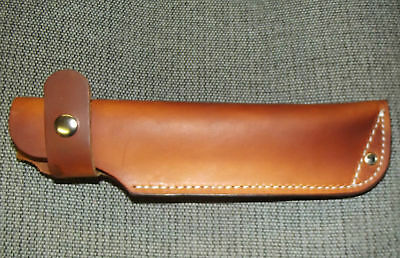 Custom Leather Sheath Bushcraft Style 1036