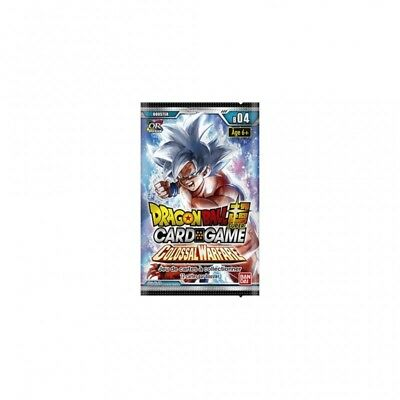 Dragon Ball super card game Serie 4 Booster FR bandai