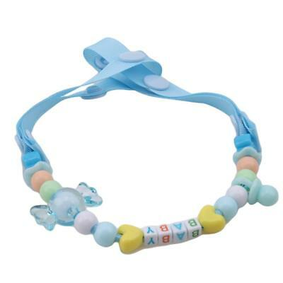 Toddler Infant Baby Dummy Pacifier Clip Chain Holder Soother Nipple Strap Q