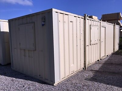 32ft x 10ft Site Office Cabin Drying Room Changing Room Portable Steel Building