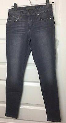 Joes Jeans Womens Skinny Ankle Shadow Gray Sz 25 Stretch Fit