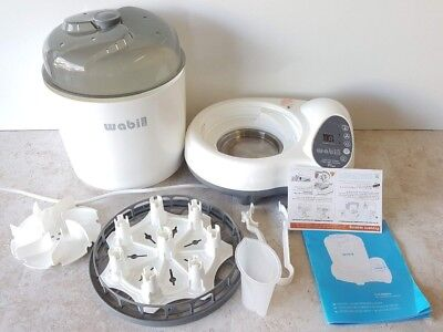 Wabi Baby 3-in-1 Newborn Standard-Size Bottles Steam Sterilizer and Dryer Plus