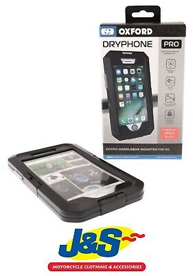 Oxford Products Dryphone Pro IPhone 6+ 7+ Holder Motorcycle Motorbike Universal