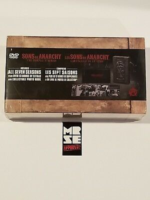 Sons of Anarchy Complete Series Seasons 1-7 DVD Limited Edition Reaper Set New