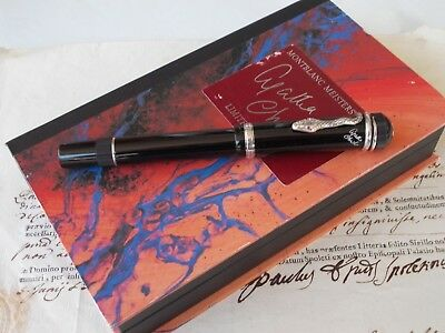 Montblanc Agatha Christie - Limited Edition Fountain Pen From 1993 - Boxed