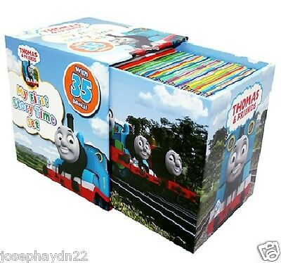 NEW BOX SET  35 x THOMAS THE TANK ENGINE and Friends STORYTIME COLLECTION  £105