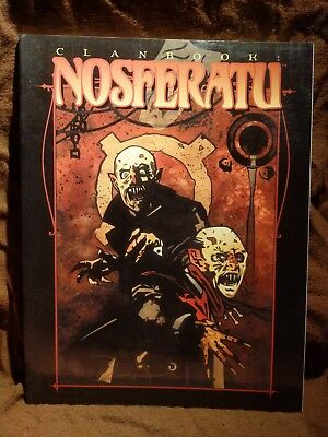 WW 2354 Clanbook Nosferatu - Vampire the Masquerade - World of Darkness