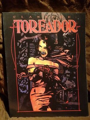 WW 2356 Clanbook Toreador - Vampire the Masquerade - World of Darkness