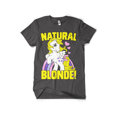 Officially Licensed My Little Pony- Natural Blonde Men's T-Shirt s-XXL Sizes
