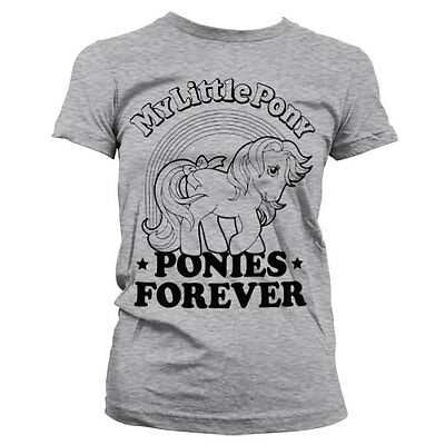 Officially Licensed My Little Pony- Ponies Forever Women T-Shirt S-XXL Sizes